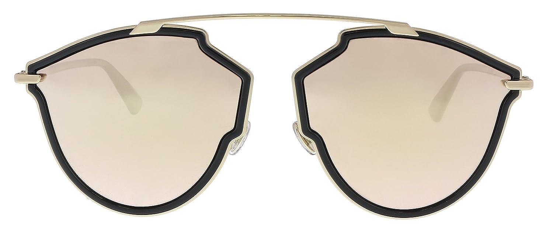 Dior Gafas de sol para mujer 58-17-145 Oro negro: Amazon.es ...