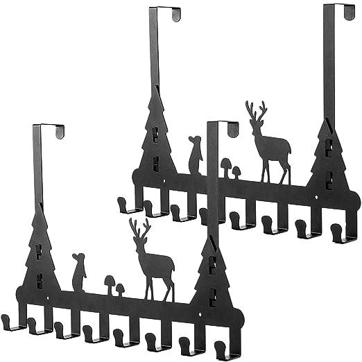 Umi. by Amazon - Set de 2 colgadores para puerta, percheros ...