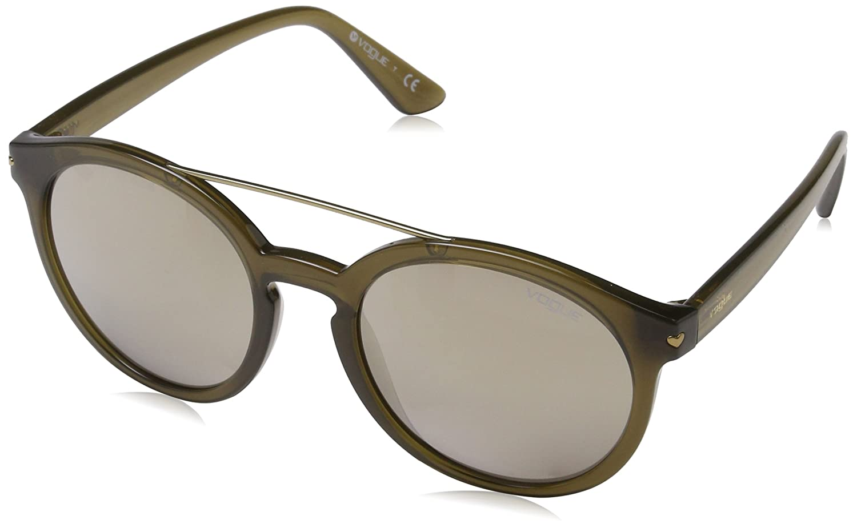 VOGUE 0Vo5133S Gafas de sol, Opal Olive Green, 53 para Mujer
