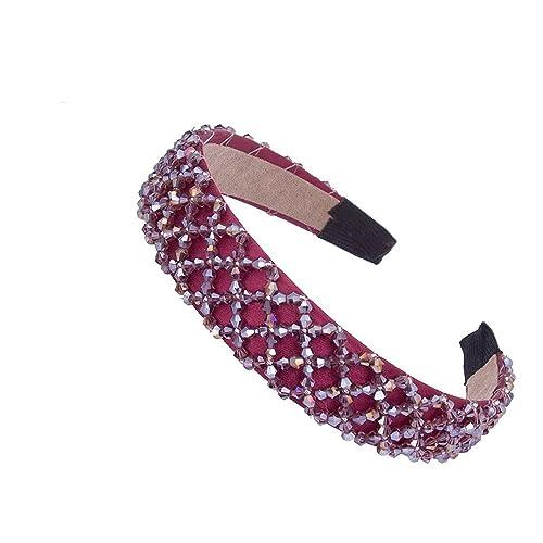 AWAYTR - Cinta para el pelo - para mujer rojo rosso Gratis
