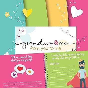 amazon com scrapbook albums grandmother gift baby keepsake book