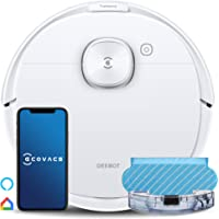 ECOVACS DEEBOT N8 Robot Vacuum Cleaner, 2-in-1 Vacuuming & Mopping, dToF Laser Detection,Bacterial Removal ,2300Pa…
