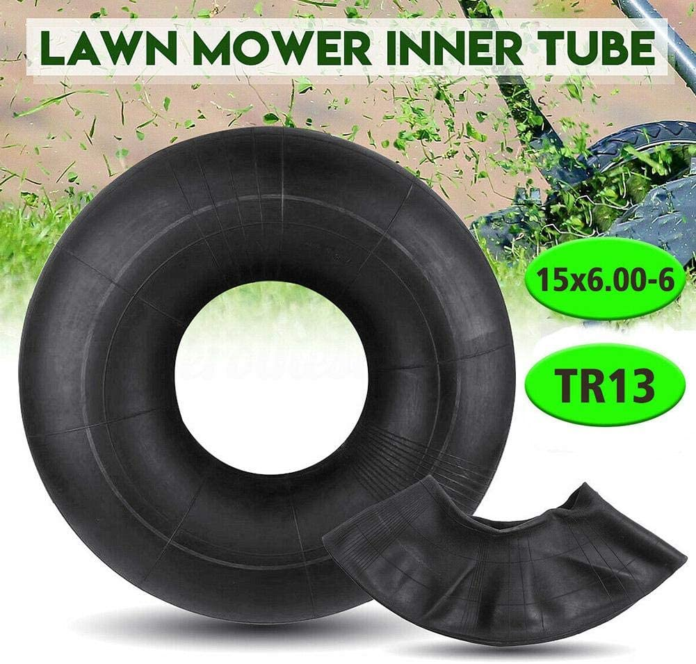 ningxiao586 Chambre /à air de Tube int/érieur de Tondeuse Compatible pour 15x6.00-6 tracteurs TR13 /à Bras tendus Droits VTT