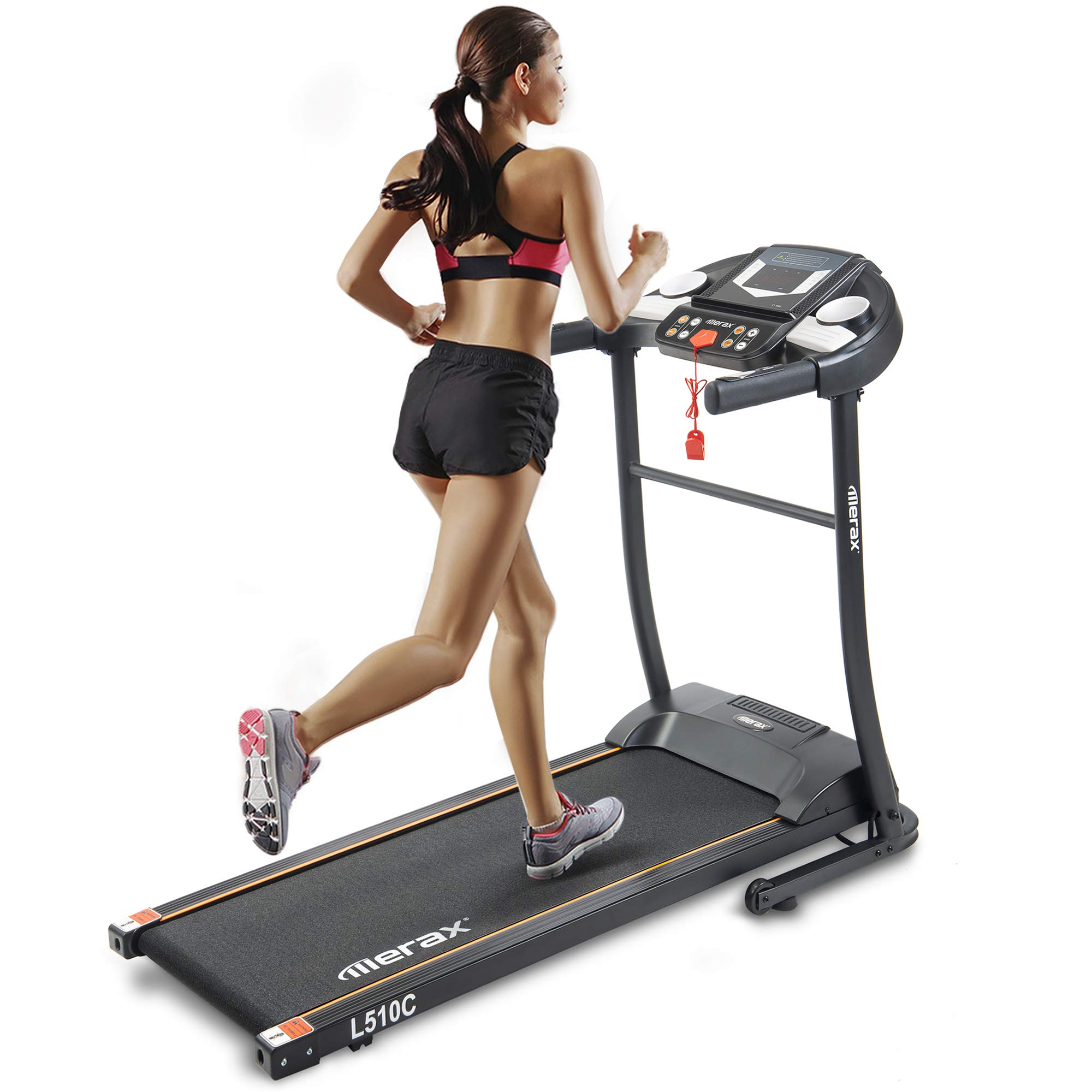 Merax Easy Assembly Folding Electric Treadmill Motorized Running Machine