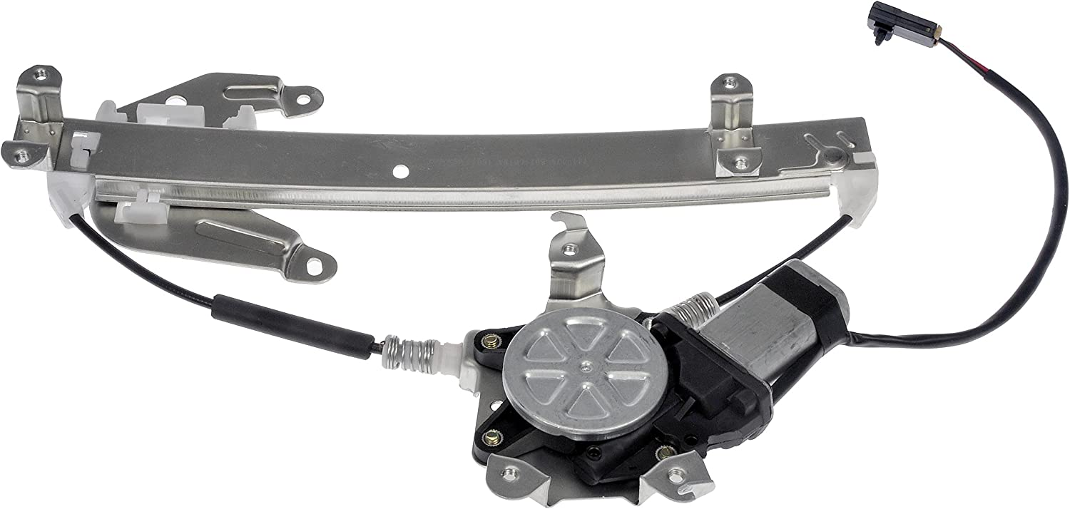 Dorman 741-778 Rear Passenger Side Power Window Regulator and Motor Assembly for Select Infiniti Nissan Models