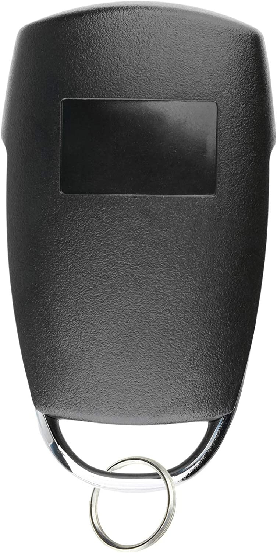 KeylessOption Keyless Entry Remote Car Key Fob Alarm Clicker for Kia Sedona Mini Van Hyundai Entorage