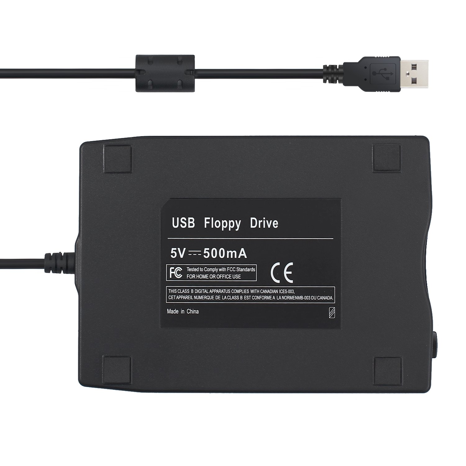 CAMWAY 3.5'' Portable USB 2.0 External Floppy Disk Drive 1.44MB for Laptop Desktop PC Win XP/7/8/10 by CAMWAY (Image #6)