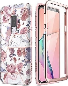 SURITCH Coque Samsung Galaxy S9 Plus Silicone 360 Degrés Souple Slim Integrale Antichoc Avant et Arrière Etui Case Cover Housse Samsung Galaxy S9 ...