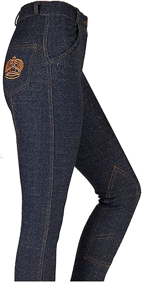 Discount Pet Accessories HORSE RIDING WOMEN LADIES SOFT STRETCHY JODHPURS JODPHURS JODS CHECK WITH BLACK AND CHECK WITH NAVY
