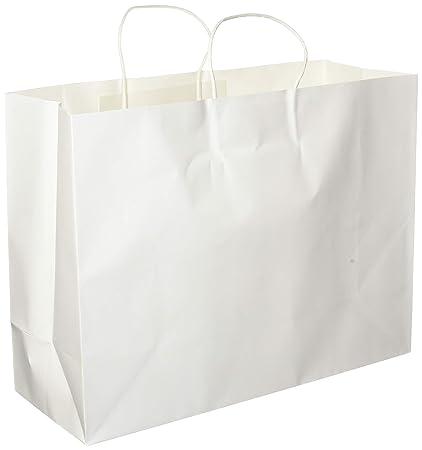 8 x 4.75 x 10.5 24 Pack Brown LaRibbons Gift Bulk with Handles Kraft Paper Bags