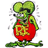 10pcs Big Daddy Hot Rods Ed Roth Graffiti Rat Fink Decal Car Vinyl Stickers