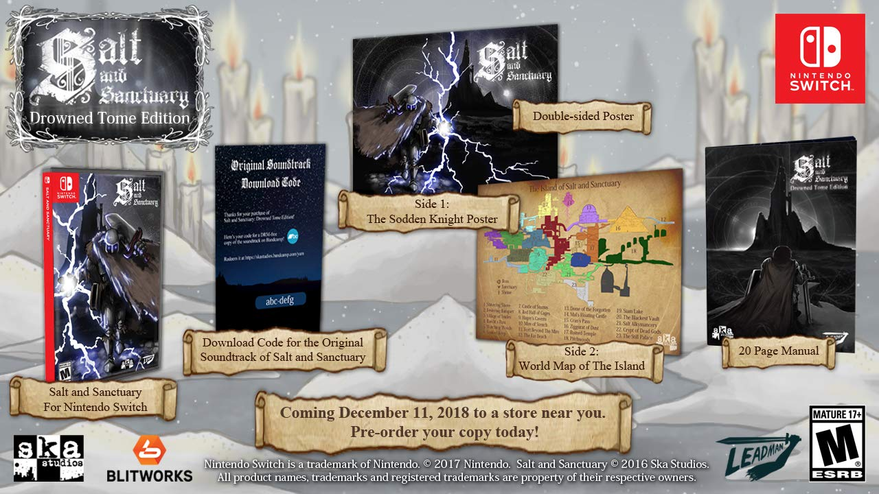 Salt   Sanctuary - Drowned Tome Edition  USA   Amazon.es  Sega of America  Inc  Cine y Series TV 599f3ff0b92
