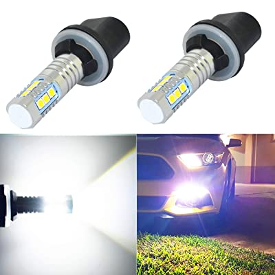 Alla Lighting 899 880 LED Fog Light Bulbs Xtreme Super Bright 892 880 LED Bulb 3030-SMD LED 880 Bulb for Auto Motorcycle Cars Trucks SUV Fog DRL Lights (880 (899 886), 6000K White): Automotive