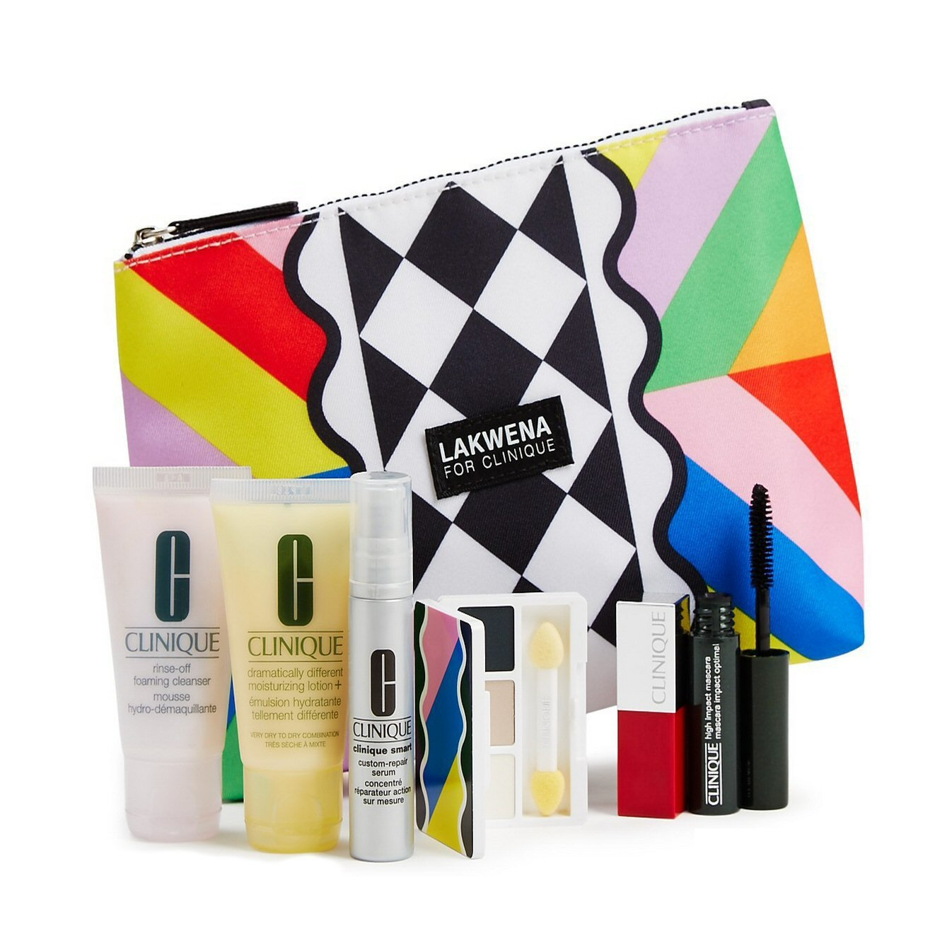 Clinique 2016 Spring 7 Pcs Skin Care & Makeup Gift Set (A $70 Value) -- Color of Sweet