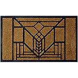Frank Lloyd Wright Lake Geneva Tulip Doormat