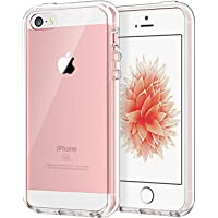 ETech Apple iPhone SE 5S 5 Case Cover (Crystal Clear)