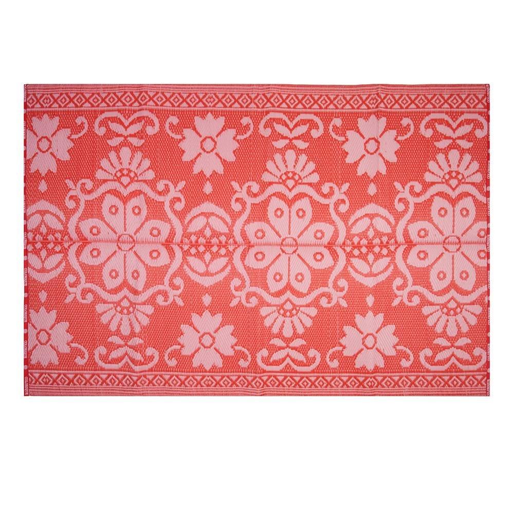 Anspruchsvoll Plastikteppich Dekoration Von Colorique - Kunststoff-teppich Raspberry Rose - 120