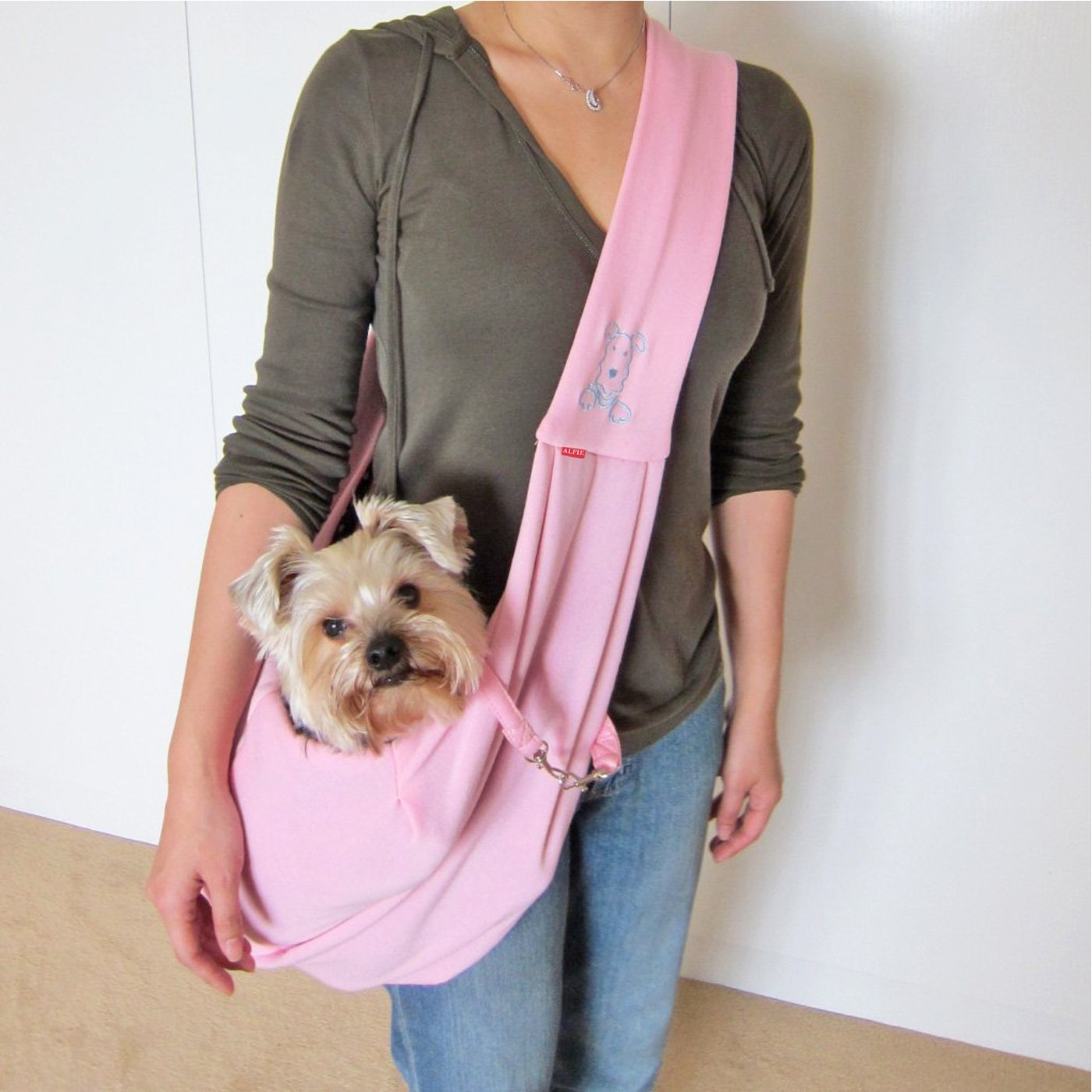 Alfie Pet By Petoga Couture Chico Reversible Pet Sling Carrier