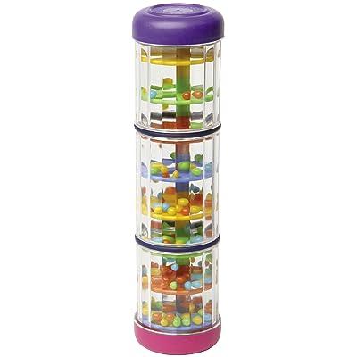 Halilit Baby Rainmaker Mini Toy (8 inch) - Rain Stick Musical Instrument for Babies, Toddlers and Kids - Sensory Developmental Rhythm Shaker: Musical Instruments