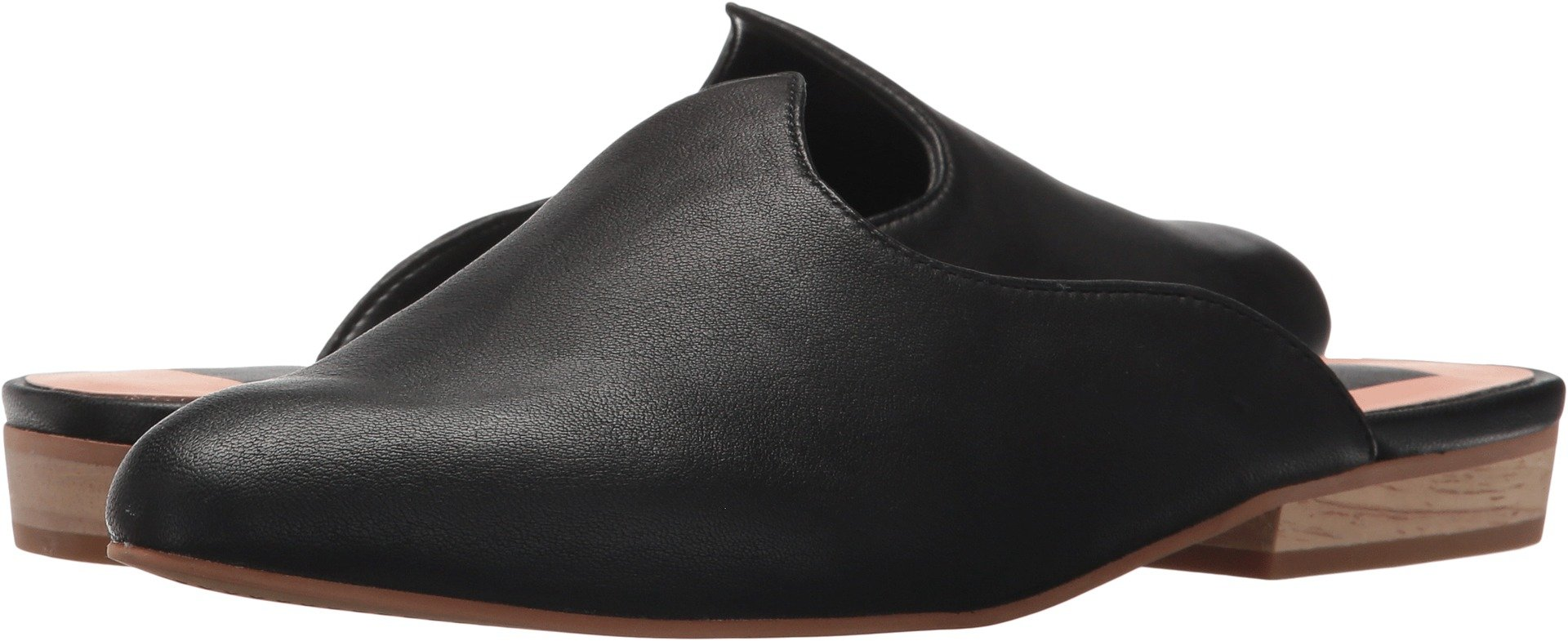 Dolce Vita Women's Marco Mule, Black Leather, 9 Medium US