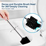 WITAIR Toilet Brush and Holder, Upgraded Toilet