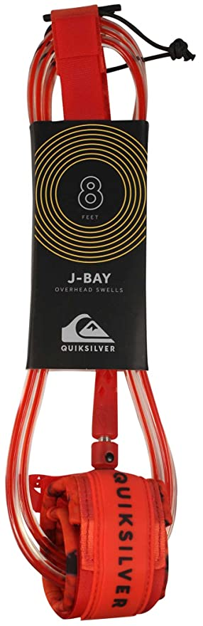 Quiksilver J-Bay - Correa para Tabla de Surf, Color Rojo