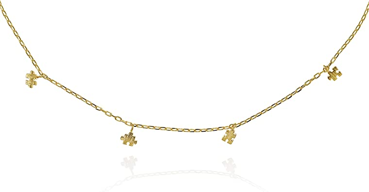 Namana Puzzle Choker Necklace for Women