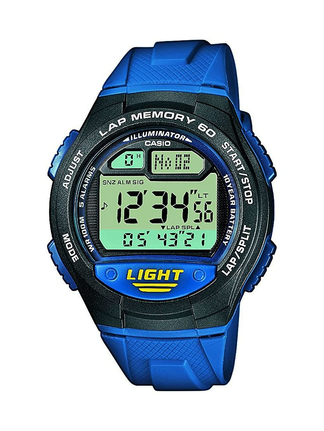 Casio Collection Reloj Digital Unisex con Correa de Resina – W