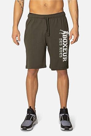 BOXEUR DES RUES Bxt-1339 Pantalones Cortos de Jersey, Hombre ...