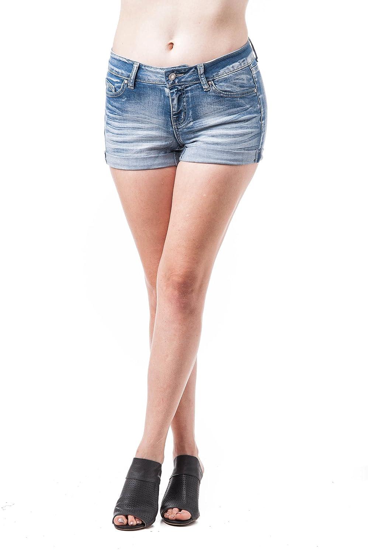 TALLA L. Khanomak - Pantalón Corto Deportivo - para Mujer
