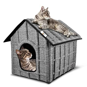 PUPPY KITTY - Casa para Gatos al Aire Libre, Invierno, Gato ...