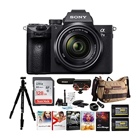 Sony Alpha a7iii Combo de cámara Digital sin Espejo: Amazon.es ...