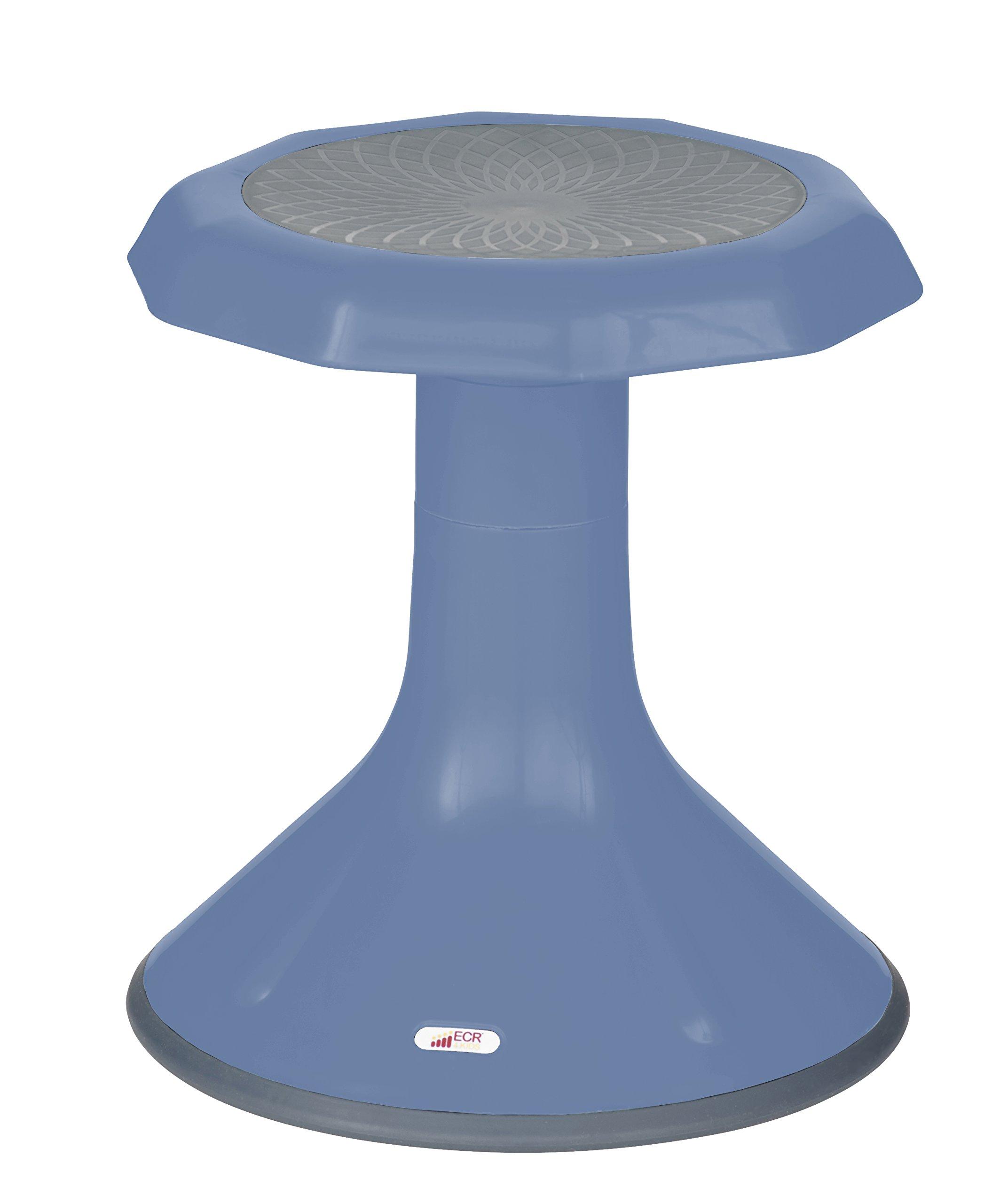 ECR4Kids ACE Active Core Engagement Stool for Kids, 15-Inch H - Powder Blue