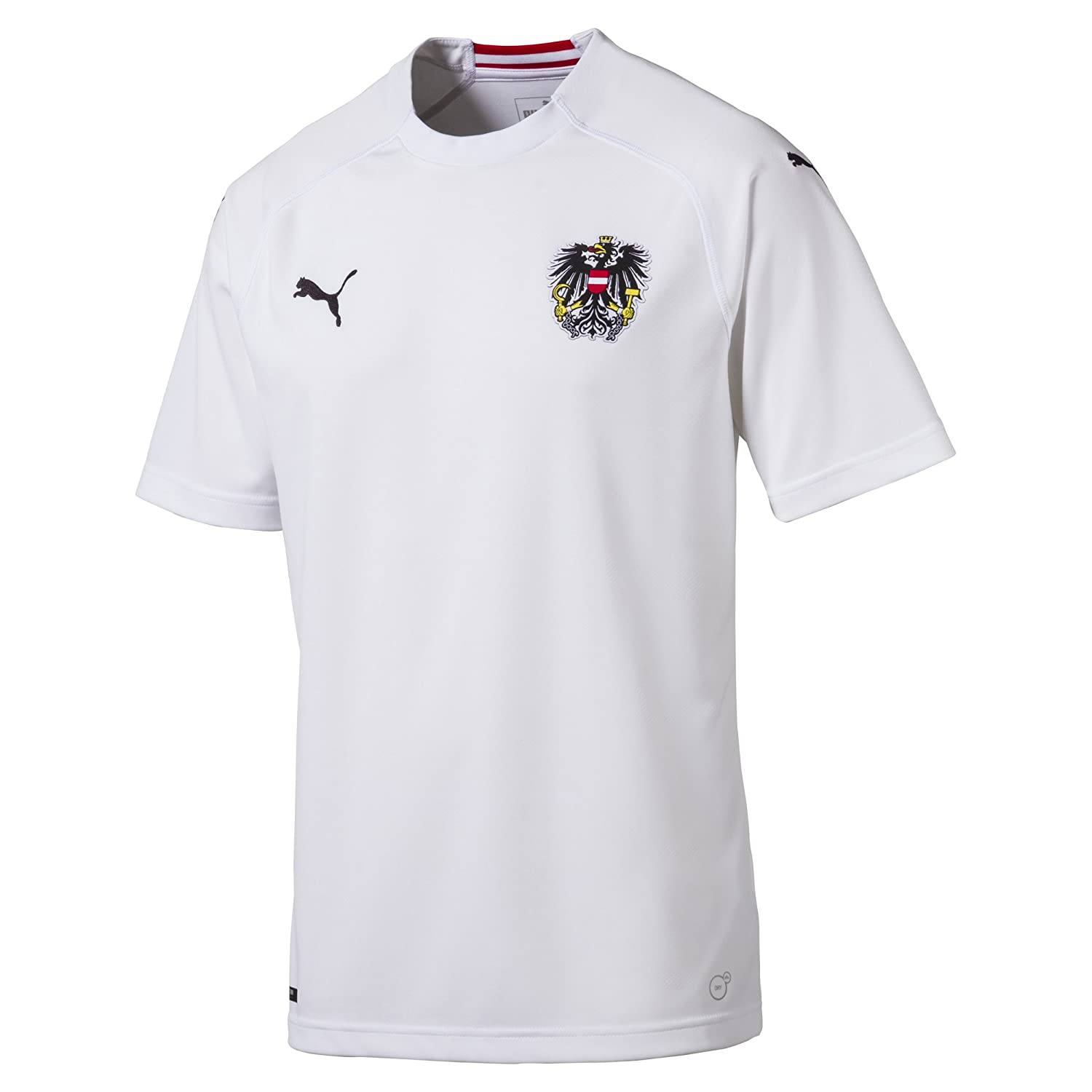 newest dd618 f7612 Amazon.com : PUMA 2018-2019 Austria Away Football Shirt ...