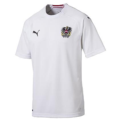 91986936e5d Amazon.com   PUMA 2018-2019 Austria Away Football Soccer T-Shirt ...