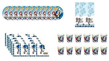 ALMACENESADAN 0468, Pack Fiestas y cumpleaños Sonic ...