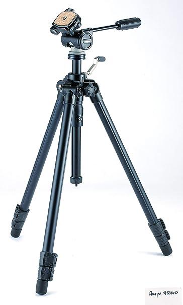 Velbon Sherpa G5300d Digital Film Cameras 3leg S Black Tripod Tripods 64 8 Cm 2 17 Kg Black Kamera