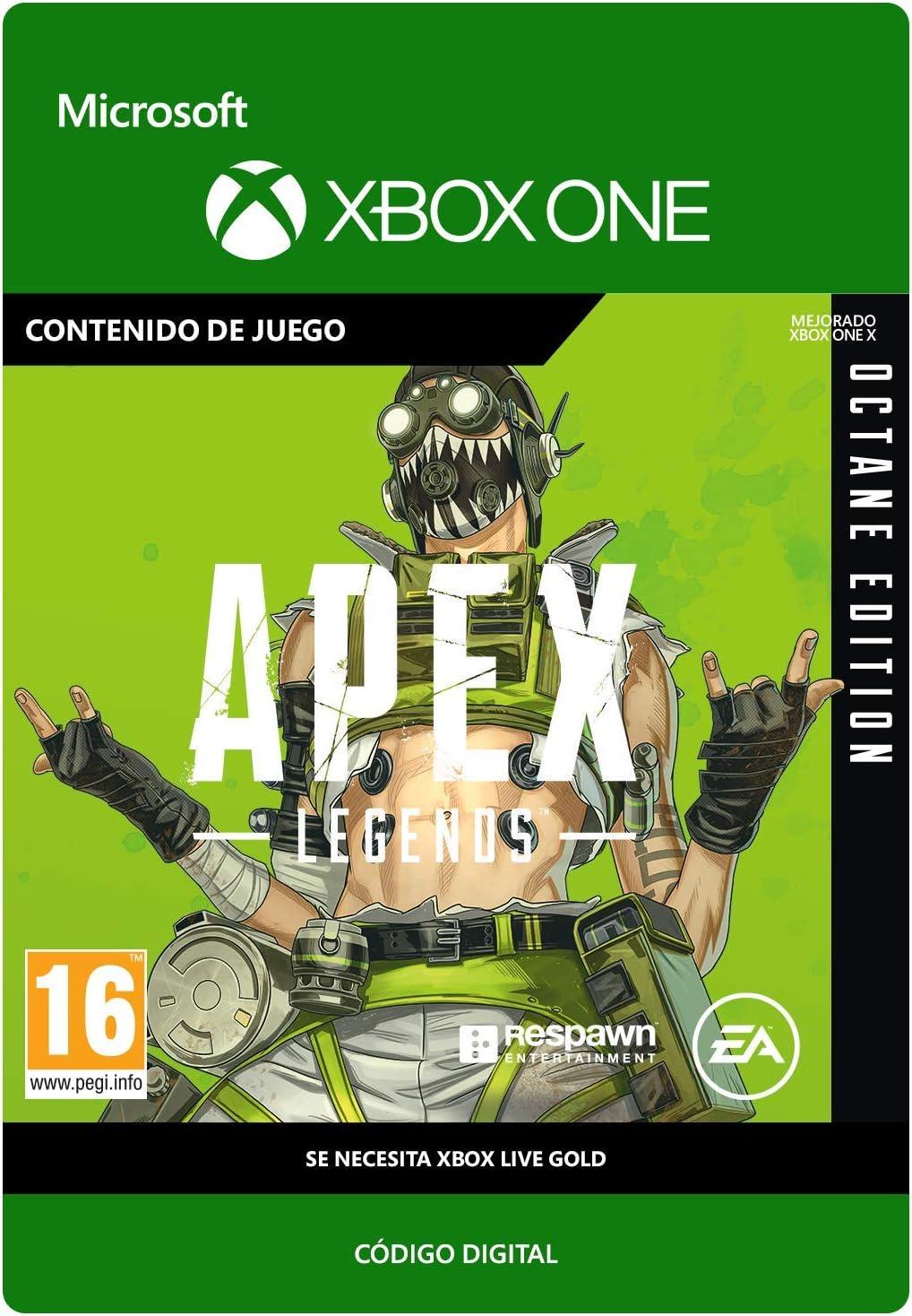 Apex Legends Octane Edition   Xbox One - Código de descarga ...