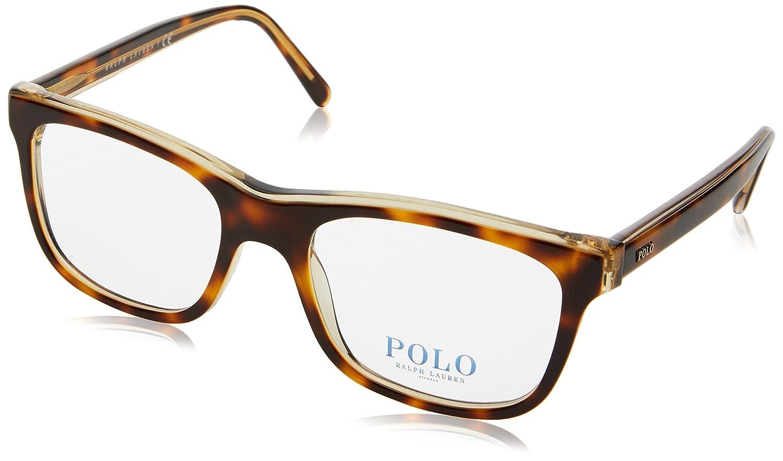 Polo PH2173 Eyeglasses 5637 Light Havana On Pinot Grigio 51-18-145 0PH2173