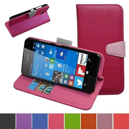 22 opinioni per Lumia 650 Custodia,Mama Mouth Portafoglio custodia in PU di cuoio pelle con