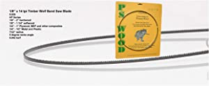 """Timber Wolf Bandsaw Blade 1/8"""" x 93-1/2"""", 14 TPI"""
