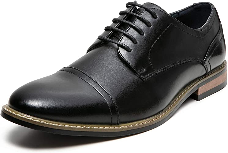 Little Boys Black Capped Toe Oxford Dress Shoe for Special Occasion 13