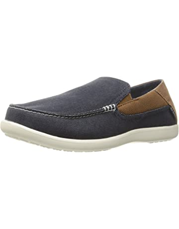 1979e2bd21b Crocs Men's Santa Cruz 2 Luxe Loafer | Casual Comfort Slip On With Memory  Foam Footbed