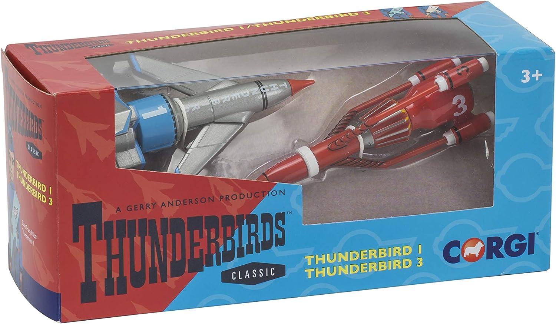 Thunderbirds Thunderbirds deux et quatre modèles Moulé Sous Pression CORGI