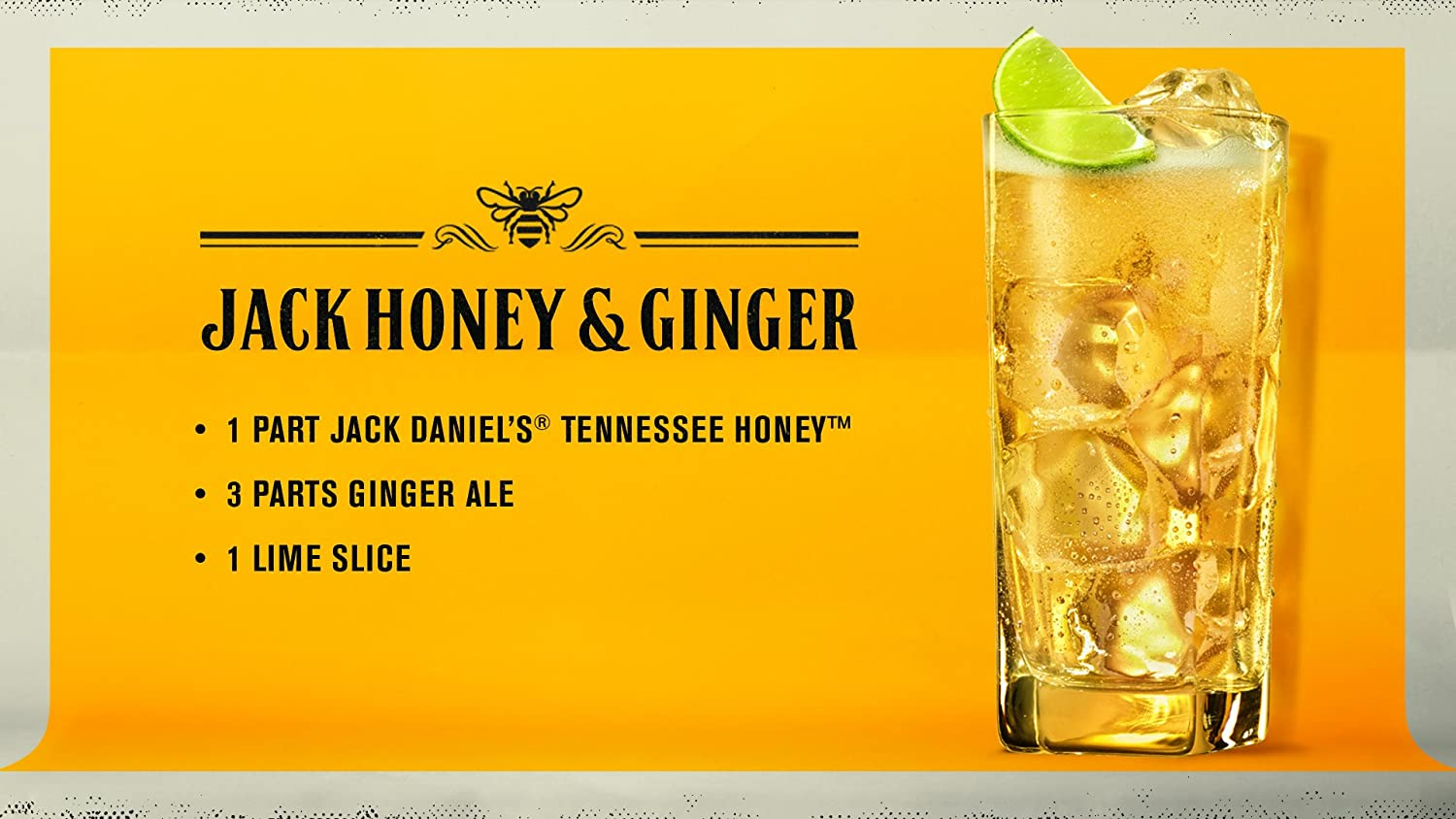 Jack Daniels Tennessee Honey, 750 mL, 70 Proof: Amazon.com: Grocery & Gourmet Food