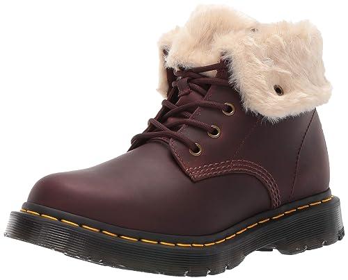 Dr Martens 1460 Kolbert Wintergrip Mujer Botas Marrón: Amazon.es: Zapatos y complementos