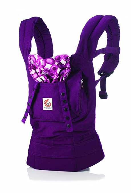 Ergobaby - Mochila portabebés Mystic Violett: Amazon.es: Bebé