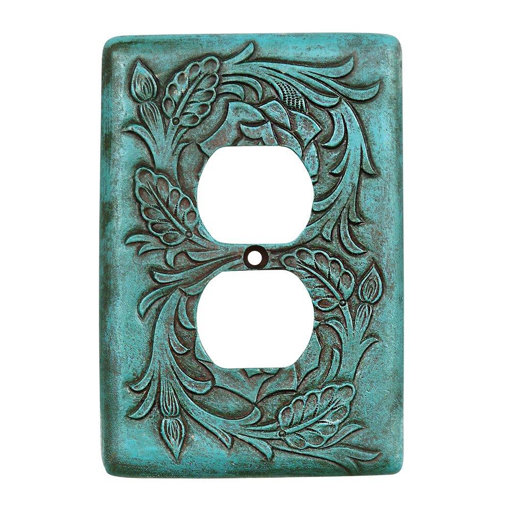 Turquoise Tooled Leather Southwestern