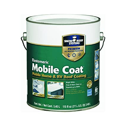 snow roofkst coatings mc 1 mobile coat - Mobile Home Roof Coating