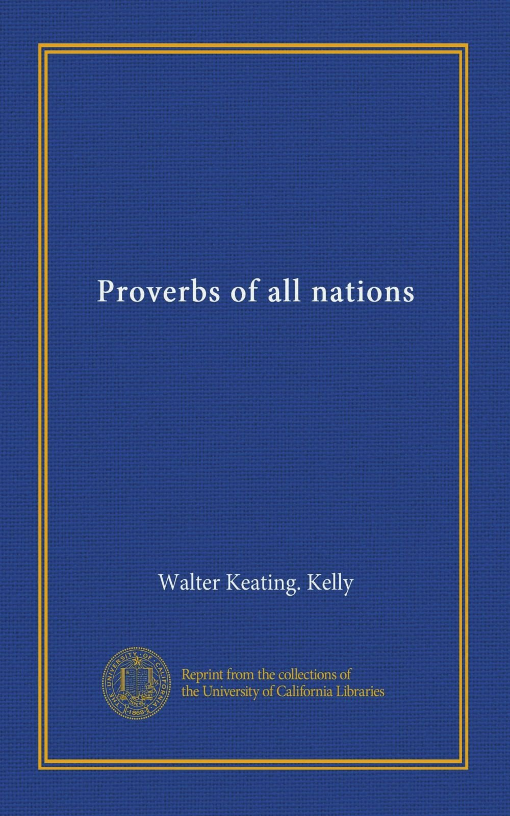 Download Proverbs of all nations ebook